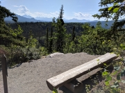 Overlook on Rock Creek Trail, Denali National Park