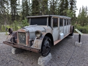 1930s Fugeol tour bus, Denali National Park