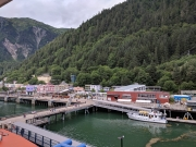 Docking in Juneau, Alaska
