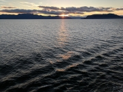 Sunset, Alaska Inside Passage