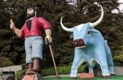 Paul Bunyan, Blue Ox