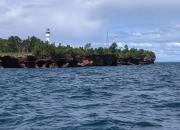 Devils Island Light House