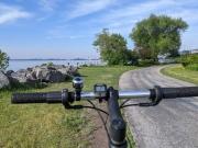 Duluth MN Lakewalk Trail Bike