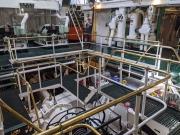 Duluth MI William AIrvin Engine Room