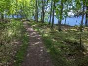 Madeline Island WI Big Bay Park Trail