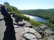 Porcupine Mountain Lake Of The Clouds MI