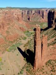 Spider Rock Canyon DeChelly NM