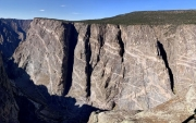 Black Canyon, Gunnison, Painted Wall