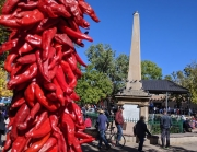 Santa Fe Plaza Chili Peppers