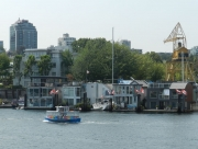 Floating Houses, Granville Island