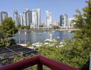 View from room, Granville Island Hotel