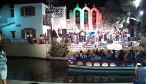 Arneson Theatre music show on Riverwalk