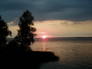 Lake Manistique Sunset