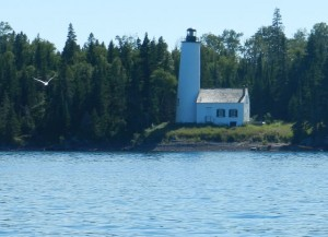 Rock Harbor Light Isle Royale NP