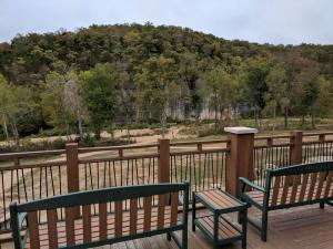 View from lodge deck