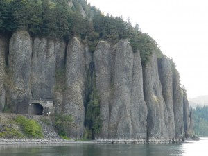 Columbia Gorge RR tunnel