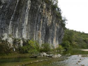 Echo Bluff and Sinking Creek