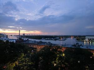 Sunset across the Savannah River