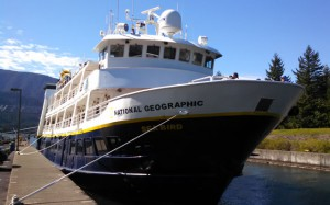 National Geographic Seabird at Cascade Locks, OR