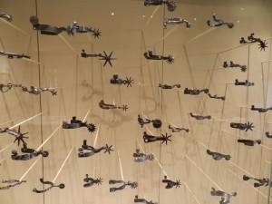 Briscoe Western Museum spur display